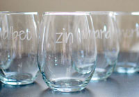 Customize your wine glasses