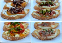 4 Easy crostini party appetizers