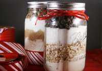 4 Homemade cookie mix gifts
