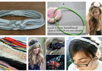 7 Upcycled headbands that are crazy-easy to make