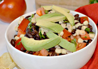 Black bean summer salad recipe