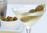 Classic dirty martini