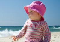Cool (and protective) beachwear for little kids