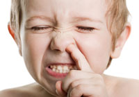 Crazy things kids have stuck up their noses