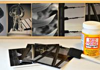 DIY: Alphabet photography frames