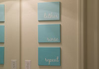 Http Allparenting Com My Home Articles 971623 Diy Bathroom Canvas Art