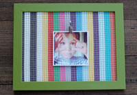DIY frame organizer for photos and jewelry