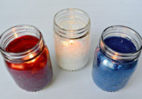DIY: How to make a Mason jar candle
