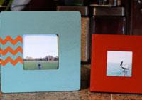 DIY Instagram print frames