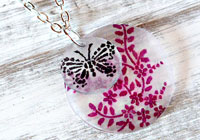 DIY Shrinky Dinks necklace