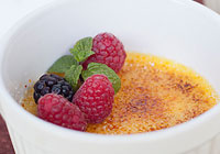 Easy crème brûlée dessert