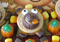 Edible turkey crafts for kids