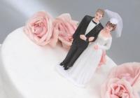 Expert: Wedding cake predicts marriage longevity