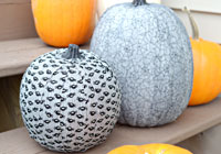 Fabric covered pumpkin tutorial
