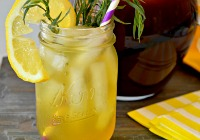 Fresh iced tea recipes for National Iced Tea Month
