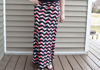 How to make your own maxi skirt
