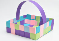 How to weave your own May Day basket with the kids
