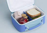Lunch containers for easy packing