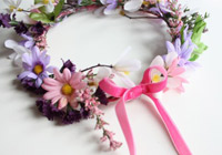 Make a children's fairy flower crown