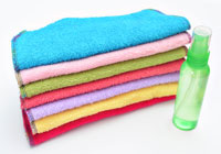 Make your own cloth baby wipes & wipes solution