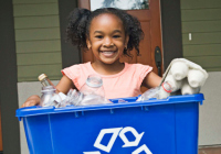 Organize your recycling for Earth Day