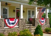 Patriotic wreaths to adorn your door