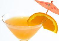 Sex on the beach martini
