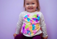Sharpie tie dyed T-shirts