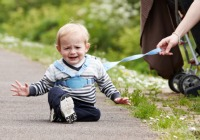 Should children really be on a leash?