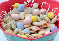 Spring snack mix recipe