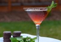 Thin Mint martini