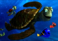 Turtle Talk with Finding Nemo's Crush