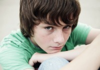 Warn your teen against squeezing testicles. Huh?!