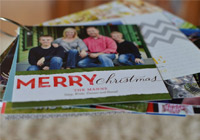 What goes into a great holiday card
