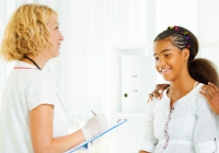 When should teens visit the OB/GYN?