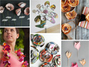 101 Different ways to make paper flowers