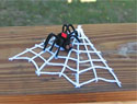 Yarn Glue Spider Web