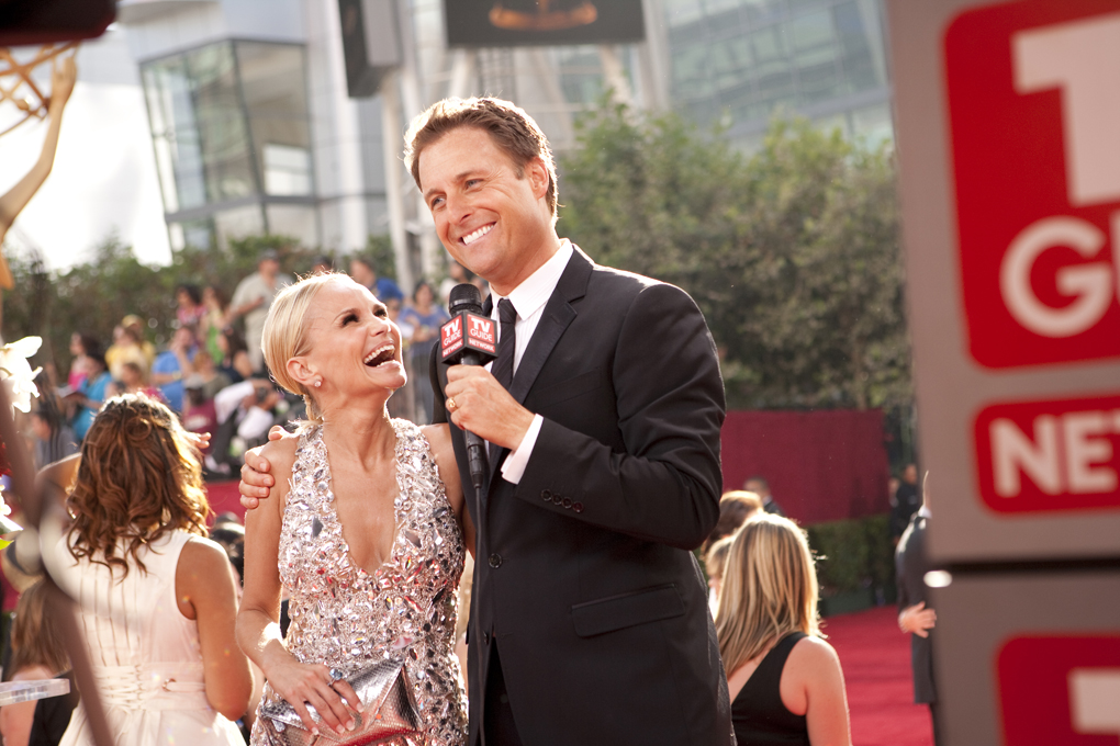 Chris Harrison interviews Kristin Chenoweth