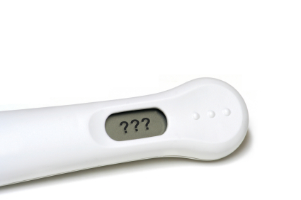 pregnancy test question