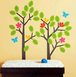 Baby's room wall stickers