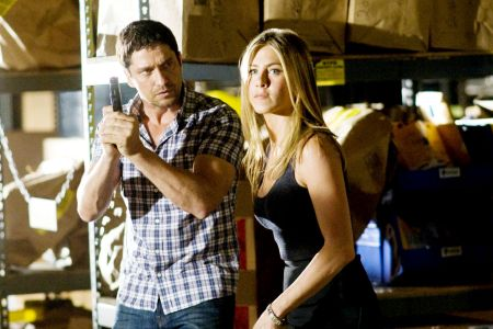 Gerard Butler and Jennifer Aniston in The Bounty Hunter