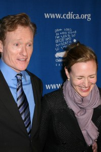 Conan O'Brien makes them laugh