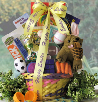 Game On Easter Basket