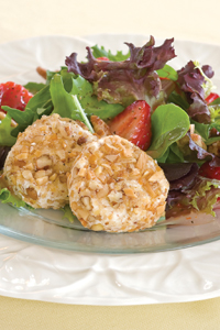 Goat Cheese and Strawberry Salad