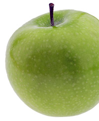 green apple snack
