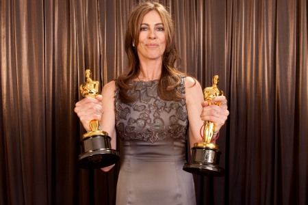 Kathryn Bigelow makes history