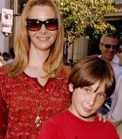 Lisa Kudrow and son Julian