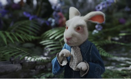 Michael Sheen is The White Rabbit