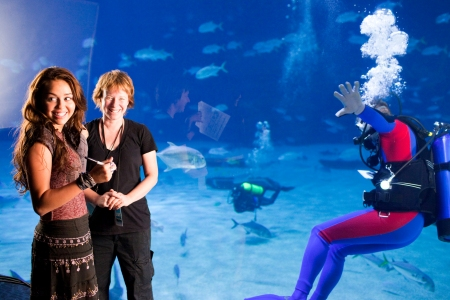 Miley, The Last Song's director Julianne Miller and Liam (in the water) enjoy filming