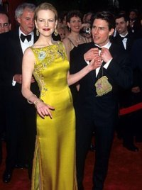 Nicole and Tom at the 1997 Oscars